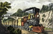 Currier and Ives - Express Train