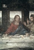Leonardo Da Vinci - The Last Supper (Detail, Center)