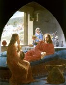 Christen Dalsgaard - Jesus With Mary & Martha