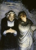 Honore Daumier - Comedy Stage
