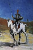 Honore Daumier - Don Quixote
