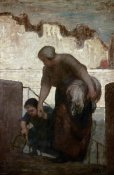 Honore Daumier - Laundress