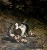 Honore Daumier - Thief and The Ass