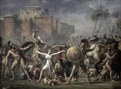 Jacques-Louis David - The Battle of The Sabines