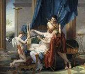 Jacques-Louis David - Sappho & Phaon