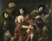 Jean Valentin de Boulogn - Jesus Insulted By The Soldiers