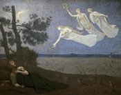 Pierre Puvis de Chavannes - Dream - Le Reve
