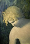 Pierre Puvis de Chavannes - The Imagination (Detail) I