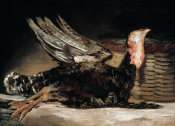 Francisco De Goya - Dead Turkey