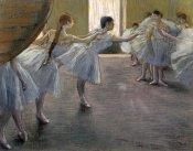 Edgar Degas - Dancers at the Rehearsal