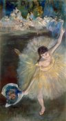 Edgar Degas - End of the Arabesque, c. 1877