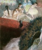 Edgar Degas - In the Theatre