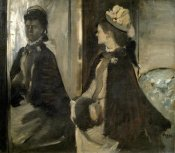 Edgar Degas - Portrait of Mrs. Jeantaud In The Mirror