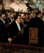 Edgar Degas - The Orchestra of the Opera