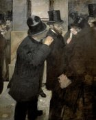 Edgar Degas - The Stock Exchange