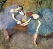 Edgar Degas - Two Dancers Resting, c. 1905-1910