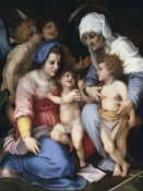 Andrea del Sarto - Holy Family With Angels
