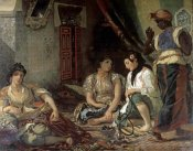 Eugene Delacroix - Algerian Women In Their Apartment