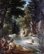 Eugene Delacroix - Turkish Women Bathing