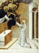 Giovanni di Paolo - St. Catherine Invested With The Dominican Scapula