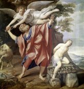 Domenichino - Abraham Sacrificing Isaac