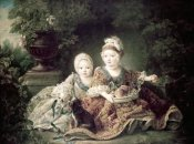 Francois Huber Drouais - Duc De Berry & Count De Provence As Children