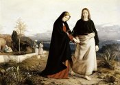 William Dyce - John Leading Mary From The Tomb