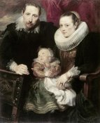 Anthony van Dyck - A Family Group