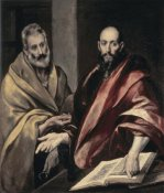 El Greco - Apostles St. Peter and St. Paul