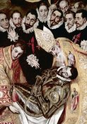 El Greco - Burial of Count Orgaz - Detail
