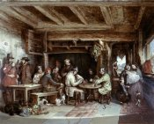 Alfred Elmore - News From India: Tavern Scene