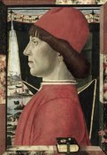 Baldassarre d' Este - Portrait of a Young Man