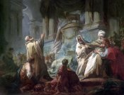 Jean Honore Fragonard - Jeroboam Sacrificing To The Idols