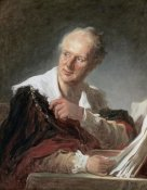 Jean Honore Fragonard - Portrait of Diderot