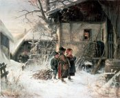 Bernhard Frohlich - Children In The Snow
