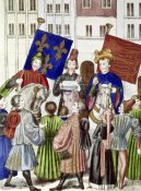 Jean Froissart - Proclamation of Truce Renewal: France & England