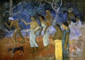 Paul Gauguin - A Scene From a Tahitian's Life