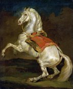 Theodore Gericault - Rearing Horse (Cheval Cabre)