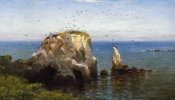 Robert Swain Gifford - Rocks On The Sonoma Coast, California