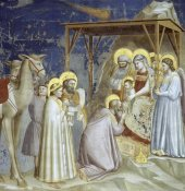 Giotto - Adoration of The Magi