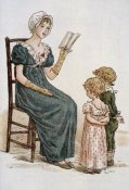 Kate Greenaway - July Kate Greenaway's Almanac For 1895