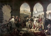 Antoine-Jean Gros - Napoleon Bonaparte Visiting The Plague Stricken at Jaffa