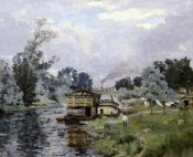 Armand Guillaumin - River Landscape