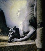Louis Welden Hawkins - The Sphinx and the Chimera