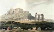 J.C. Hobhouse - Ruins of Hadrian's Temple From Journey Through Albania and Turkey