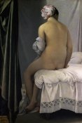 Jean Auguste Dominique Ingres - The Bather of Valpincon