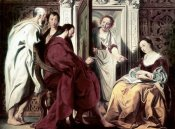 Jacob Jordaens - Jesus at The House of Mary & Martha