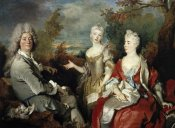 Nicolas de Largilliere - Family Portrait