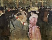 Henri Toulouse-Lautrec - At the Moulin Rouge: The Dance