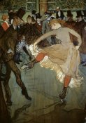Henri Toulouse-Lautrec - Dance at the Moulin Rouge (Detail)